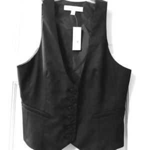 New with tags, vest with buttons